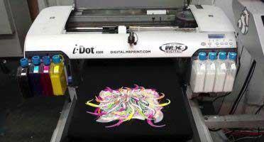 DTG Printing Method