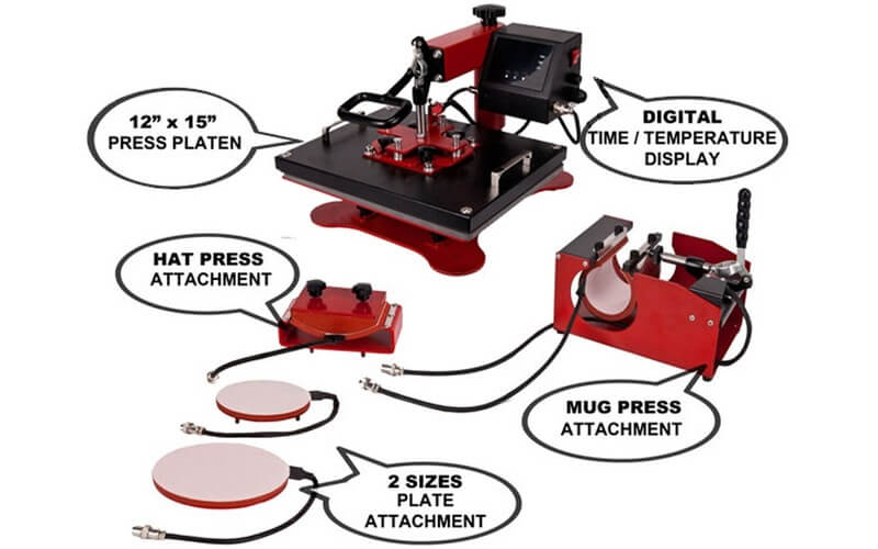 USCutter Digital Heat Press Machine